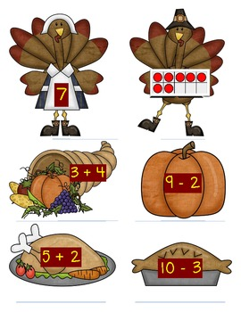 Turkey Talk - Names for Numbers