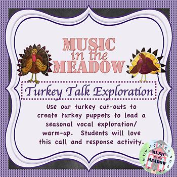 Turkey Talk Vocal Exploration