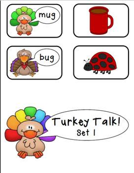 CVC Game:  Turkey Talk