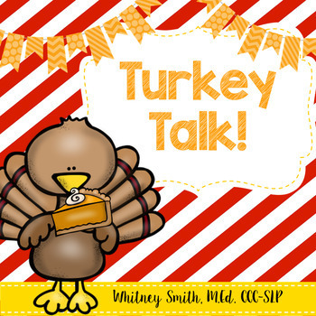 Turkey Talk for Autism and Speech Therapy