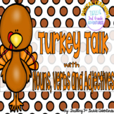 Turkey Talk with Nouns, Verbs and Adjectives