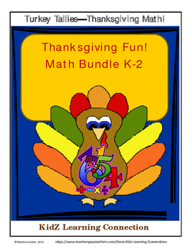 Thanksgiving Math Bundle - Turkey Tallies