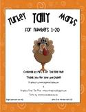 Turkey Tally Marks 1-20