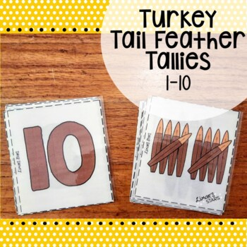 Turkey Tally Number Matching 1-10