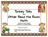 """Turkey Tally and 7 More """"Read the Room"""" Math Games"""
