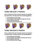Fractions: Turkey Task Cards