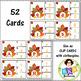 Turkey Task Cards ● Clip Cards ● Letter Recognition ● Uppe