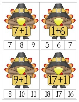 Turkey Tasks: Common Core Aligned Math  Activities for Thanksgiving
