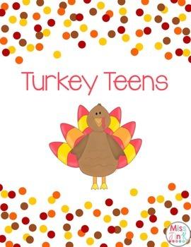 Turkey Teen Numbers