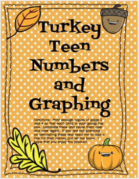 Turkey Teen Numbers and Graphing
