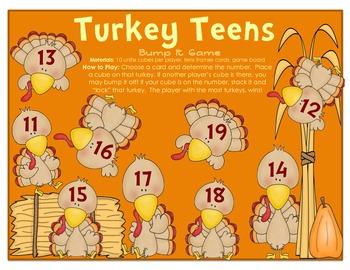Turkey Teens Bump It Game