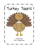Turkey Teens: Numbers 11-19
