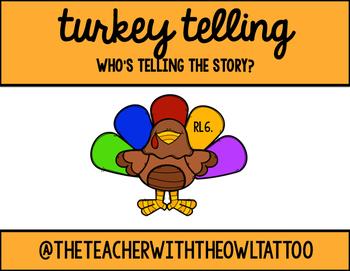 Turkey Telling (Who's telling the story) ELAGSE1RL6