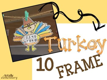 Turkey Ten Frame