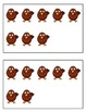 Turkey Ten-Frame (5-Group) Cards - Student and Teacher Sizes