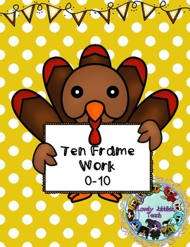 Turkey Ten Frame Practice 0-10
