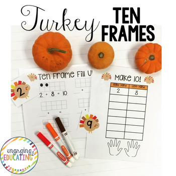 Turkey Ten Frames!