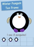 Winter Penguin Ten Frame
