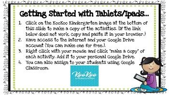 Turkey Ten Frames-A Digital Math Center for Google Classroom & Google Apps