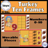 Turkey Ten Frames How Many? Counting to 10 -  Google Class