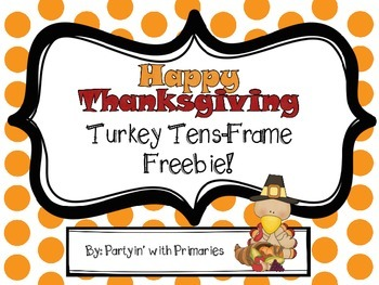 Turkey Tens-Frame Freebie