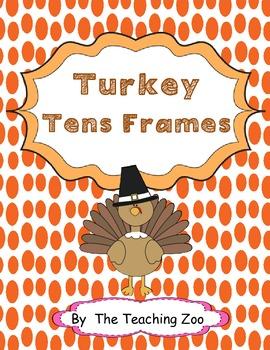 Turkey Tens Frames