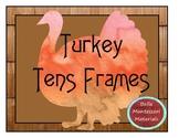 Turkey Tens Frames - 1 - 20