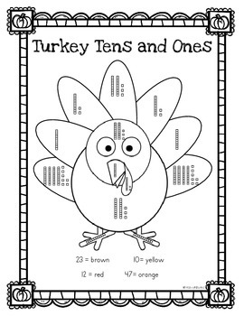 Turkey Tens and Ones