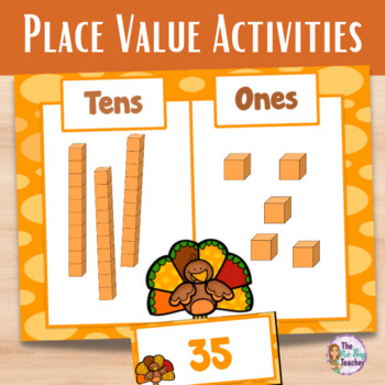Thanksgiving Place Value Math Center
