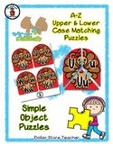 Turkey - Thanksgiving - Alphabet / Letter Puzzles - Simple