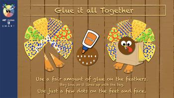 Turkey Thanksgiving Craft - The Grateful Turkey