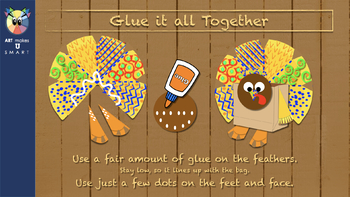 Turkey Thanksgiving Craft - The Grateful Turkey Powerpoint