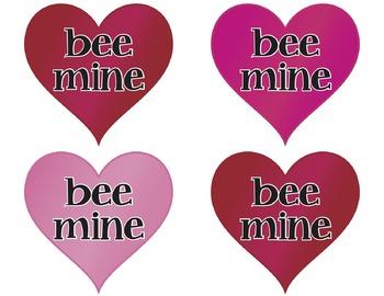 Bumble Bee Valentine's Day Door & Bulletin Board Decor