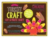 Turkey Thanksgiving Fall Craft