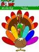 Turkey - FREEBIE / Thanksgiving Holiday Clipart - Graphics