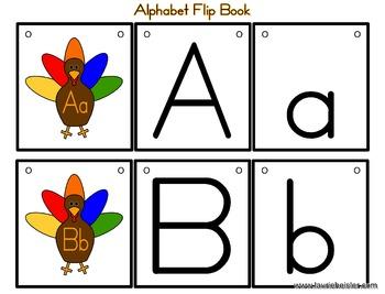 Turkey Theme Flip Chart