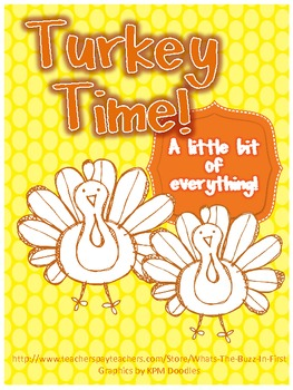 Turkey Themed Fun Games and Printables