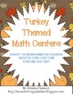 Turkey Themed Math Centers