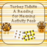 Read for Meaning Thanksgiving Themed Activity