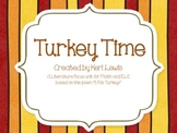 Turkey Time- A Kindergarten Math and ELA Unit