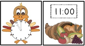 Turkey Time! A Thanksgiving Themed Common Core Aligned Measurement Pack!