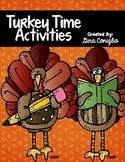 Turkey Time Activities