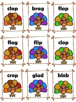 Thanksgiving-Turkey Time Blends Game