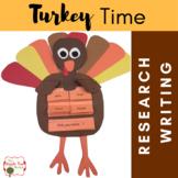 Turkey Time {K-3 CCSS Informative Writing + Craftivity Mini-Unit}