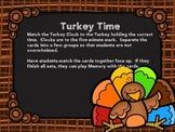 Turkey Time Center Cards