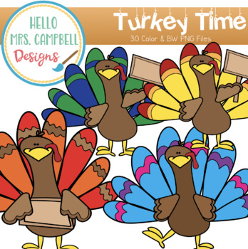 Turkey Time Clipart