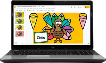 Thanksgiving Figurative Language Activity | Build a Turkey