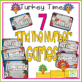 Turkey Time - Find The Number Games