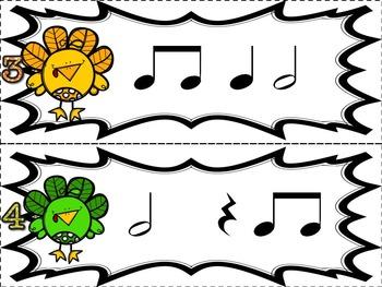 Turkey Time {Half Note}  {Music: Rhythm Concept Game}