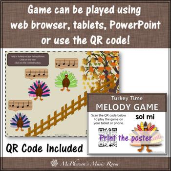 Turkey Time - Interactive Melody Game (Sol Mi)
